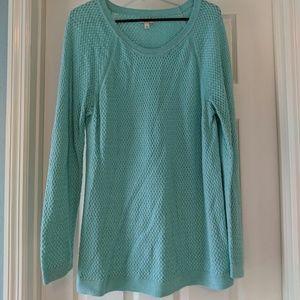 Sonoma Caribbean Blue Ultra Soft Knit Sweater